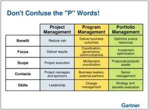 projects programmes portfolios