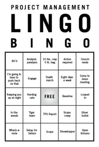 pm lingo bingo